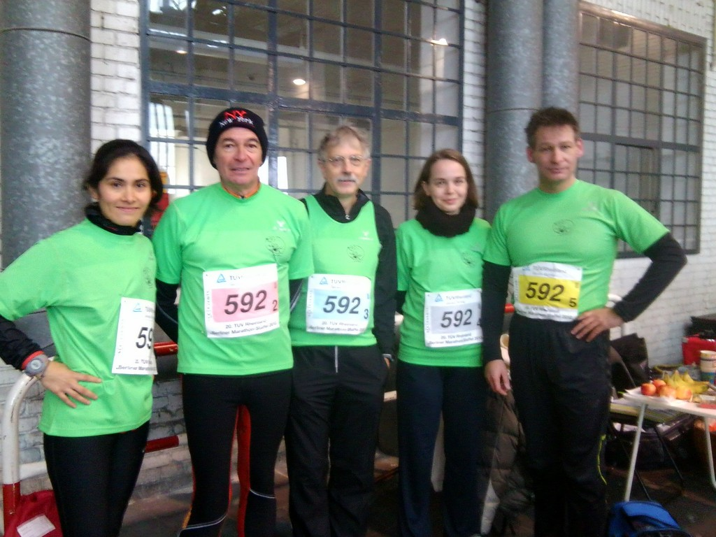 Blog 1 Marathonstaffel 2012